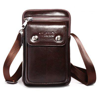 YIANG Multifunction Leather Mini Cellphone Waist Bag