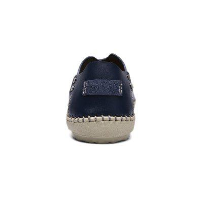 Male Breathable Casual Slip-on Loafer ShoesFlats &amp; Loafers<br>Male Breathable Casual Slip-on Loafer Shoes<br><br>Closure Type: Slip-On<br>Contents: 1 x Pair of Shoes, 1 x Box<br>Decoration: Hollow Out<br>Materials: Rubber, Leather<br>Occasion: Casual, Daily, Formal, Office, Shopping<br>Outsole Material: Rubber<br>Package Size ( L x W x H ): 32.00 x 21.00 x 13.00 cm / 12.6 x 8.27 x 5.12 inches<br>Package weight: 0.8200 kg<br>Product weight: 0.6800 kg<br>Toe Shape: Round Toe<br>Type: Casual Leather Shoes<br>Upper Material: Leather