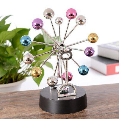 Creative Electronic Colorful Balls Rotating Ferris Wheel
