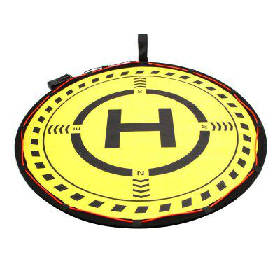 Folding Landing Pad Field 70cm with LightingRC Quadcopter Parts<br>Folding Landing Pad Field 70cm with Lighting<br><br>Compatible with: DJI Mavic Air / Mavic Pro / Spark / Phantom drone<br>Package Contents: 1 x Landing Pad Set<br>Package size (L x W x H): 30.00 x 30.00 x 3.00 cm / 11.81 x 11.81 x 1.18 inches<br>Package weight: 0.4500 kg<br>Product size (L x W x H): 29.00 x 29.00 x 2.80 cm / 11.42 x 11.42 x 1.1 inches<br>Product weight: 0.4300 kg<br>Type: Pad