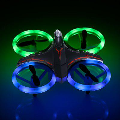 GS - XXD158 - YW Light Propeller Protection RC Drone -  BLACK