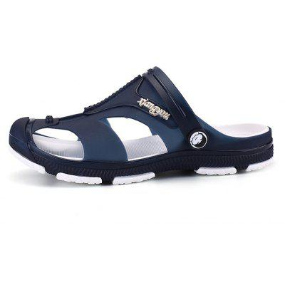 Men Leisure Breathable Dual-use Anti-slip SandalsMens Sandals<br>Men Leisure Breathable Dual-use Anti-slip Sandals<br><br>Contents: 1 x Pair of Shoes<br>Function: Slip Resistant<br>Materials: PVC, EVA<br>Occasion: Shopping, Holiday, Daily, Casual, Beach<br>Outsole Material: EVA<br>Package Size ( L x W x H ): 28.00 x 17.00 x 10.00 cm / 11.02 x 6.69 x 3.94 inches<br>Package weight: 0.3600 kg<br>Product weight: 0.3500 kg<br>Seasons: Summer<br>Style: Fashion, Comfortable, Casual<br>Type: Sandals<br>Upper Material: PVC