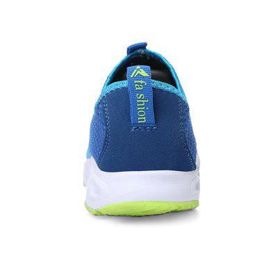 Men Trendy Breathable Quick-drying Anti-slip Water ShoesFlats &amp; Loafers<br>Men Trendy Breathable Quick-drying Anti-slip Water Shoes<br><br>Closure Type: Slip-On<br>Contents: 1 x Pair of Shoes, 1 x Box<br>Function: Slip Resistant<br>Materials: Mesh, MD<br>Occasion: Beach, Casual, Daily, Holiday<br>Outsole Material: MD<br>Package Size ( L x W x H ): 33.00 x 22.00 x 11.00 cm / 12.99 x 8.66 x 4.33 inches<br>Package weight: 0.6500 kg<br>Product weight: 0.5000 kg<br>Seasons: Autumn,Spring,Summer<br>Style: Fashion, Comfortable, Casual<br>Toe Shape: Round Toe<br>Type: Casual Shoes<br>Upper Material: Mesh Fabric