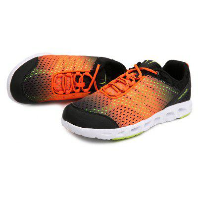 Men Stylish Breathable Anti-slip Athletic ShoesMen's Sneakers<br>Men Stylish Breathable Anti-slip Athletic Shoes<br><br>Closure Type: Lace-Up<br>Contents: 1 x Pair of Shoes, 1 x Box<br>Function: Slip Resistant<br>Materials: MD, Mesh Fabric<br>Occasion: Casual, Sports, Shopping, Holiday, Daily<br>Outsole Material: MD<br>Package Size ( L x W x H ): 33.00 x 22.00 x 11.00 cm / 12.99 x 8.66 x 4.33 inches<br>Package weight: 0.6500 kg<br>Product weight: 0.5000 kg<br>Seasons: Autumn,Spring,Summer<br>Style: Fashion, Comfortable, Casual<br>Toe Shape: Round Toe<br>Type: Sports Shoes<br>Upper Material: Mesh Fabric