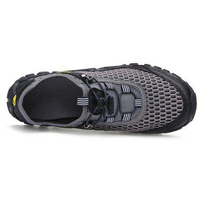 Men Casual Breathable Hiking Athletic ShoesMen's Sneakers<br>Men Casual Breathable Hiking Athletic Shoes<br><br>Closure Type: Elastic band<br>Contents: 1 x Pair of Shoes, 1 x Box<br>Function: Slip Resistant<br>Materials: Mesh Fabric, Microfiber Leather, Rubber<br>Occasion: Sports, Shopping, Running, Riding, Holiday, Daily, Casual, Beach<br>Outsole Material: Rubber<br>Package Size ( L x W x H ): 33.00 x 22.00 x 11.00 cm / 12.99 x 8.66 x 4.33 inches<br>Package weight: 0.7500 kg<br>Product weight: 0.6000 kg<br>Seasons: Summer<br>Style: Fashion, Comfortable, Casual<br>Toe Shape: Round Toe<br>Type: Sports Shoes<br>Upper Material: Mesh Fabric,Microfiber Leather