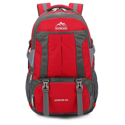 Multifunction Large Capacity Backpack for MenBackpacks<br>Multifunction Large Capacity Backpack for Men<br><br>Closure Type: Zip<br>Features: Wearable<br>For: Traveling, Outdoor, Hunting, Hiking, Fishing, Daily Use, Cycling, Climbing<br>Gender: Men<br>Material: Nylon<br>Package Size(L x W x H): 35.00 x 61.00 x 5.00 cm / 13.78 x 24.02 x 1.97 inches<br>Package weight: 1.1700 kg<br>Packing List: 1 x Backpack<br>Product Size(L x W x H): 34.00 x 60.00 x 19.00 cm / 13.39 x 23.62 x 7.48 inches<br>Product weight: 1.1600 kg<br>Style: Casual<br>Type: Backpacks