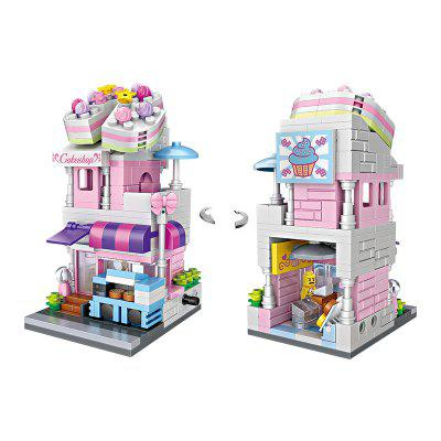 LOZ Creative Mini Cake Shop Building BlocksBlock Toys<br>LOZ Creative Mini Cake Shop Building Blocks<br><br>Brand: LOZ<br>Gender: Unisex<br>Materials: ABS<br>Package Contents: 1 x Set of Building Blocks, 1 x Graphic Illustration<br>Package size: 19.50 x 4.50 x 16.50 cm / 7.68 x 1.77 x 6.5 inches<br>Package weight: 0.1500 kg<br>Product size: 4.80 x 4.80 x 9.50 cm / 1.89 x 1.89 x 3.74 inches<br>Product weight: 0.1200 kg<br>Suitable Age: Adults,Kid<br>Theme: Buildings<br>Type: Building, Kids Building