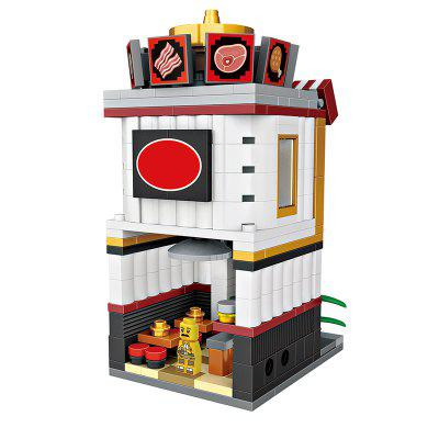 LOZ Creative Mini Hot Pot Restaurant Building BlocksBlock Toys<br>LOZ Creative Mini Hot Pot Restaurant Building Blocks<br><br>Brand: LOZ<br>Gender: Unisex<br>Materials: ABS<br>Package Contents: 1 x Set of Building Blocks, 1 x Graphic Illustration<br>Package size: 19.50 x 4.50 x 16.50 cm / 7.68 x 1.77 x 6.5 inches<br>Package weight: 0.1500 kg<br>Product size: 6.50 x 6.50 x 10.30 cm / 2.56 x 2.56 x 4.06 inches<br>Product weight: 0.1200 kg<br>Suitable Age: Adults,Kid<br>Theme: Buildings<br>Type: Building, Kids Building
