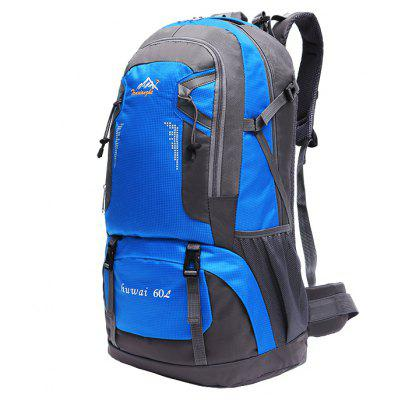 Unisex Large Capacity Leisure Outdoor BackpackBackpacks<br>Unisex Large Capacity Leisure Outdoor Backpack<br><br>For: Traveling, Camping, Climbing, Cycling, Fishing, Hiking, Other<br>Material: Nylon<br>Package Contents: 1 x Backpack<br>Package size (L x W x H): 40.00 x 5.00 x 30.00 cm / 15.75 x 1.97 x 11.81 inches<br>Package weight: 1.4200 kg<br>Product size (L x W x H): 37.00 x 21.00 x 61.00 cm / 14.57 x 8.27 x 24.02 inches<br>Product weight: 1.4000 kg<br>Strap Length: 43 - 88cm<br>Type: Backpack