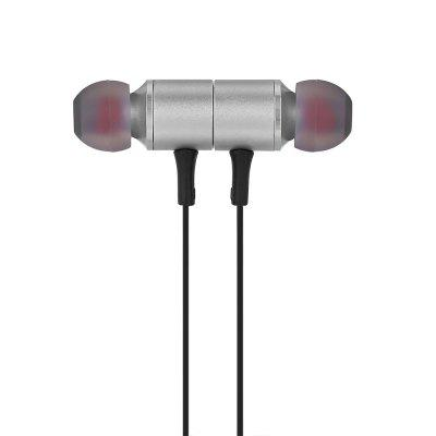 BT - 12 Magnetic Absorption Sports Bluetooth EarphoneBluetooth Headphones<br>BT - 12 Magnetic Absorption Sports Bluetooth Earphone<br><br>Application: Running, Sport<br>Battery Capacity(mAh): 90mAh Li-ion Battery<br>Battery Type: Built-in<br>Bluetooth: Yes<br>Bluetooth distance: W/O obstacles 10m<br>Bluetooth mode: Hands free, Headset<br>Bluetooth protocol: A2DP,AVRCP,HFP,HSP<br>Bluetooth Version: V4.2<br>Charging Time.: 1.5 - 2h<br>Compatible with: Mobile phone, iPhone<br>Connectivity: Wireless<br>Frequency response: 20-20000Hz<br>Function: Answering Phone, Voice Prompt, Song Switching, Noise Cancelling, Microphone, Bluetooth, Voice control<br>Impedance: 32ohms<br>Material: Metal, ABS<br>Model: BT - 12<br>Music Time: 4 - 5h<br>Package Contents: 1 x Pair of Earphones, 2 x Pair of Eartips, 2 x Ear Cap, 1 x English User Manual, 1 x USB Cable<br>Package size (L x W x H): 15.00 x 10.50 x 0.50 cm / 5.91 x 4.13 x 0.2 inches<br>Package weight: 0.0270 kg<br>Product size (L x W x H): 65.00 x 2.10 x 1.20 cm / 25.59 x 0.83 x 0.47 inches<br>Product weight: 0.0130 kg<br>Sensitivity: 98dB<br>Standby time: 120h<br>Talk time: 4 - 5h<br>Type: In-Ear<br>Wearing type: In-Ear