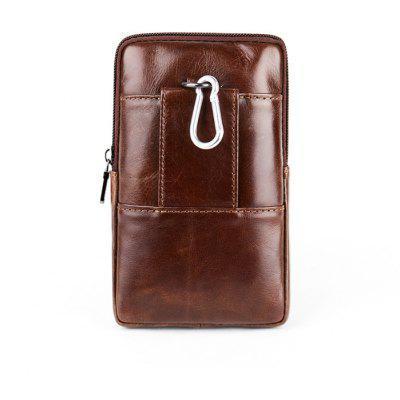 YIANG Stylish Embossed Mini Leather Cellphone Waist BagWaist Packs<br>YIANG Stylish Embossed Mini Leather Cellphone Waist Bag<br><br>Brand: YIANG<br>Features: Wearable<br>For: Climbing, Outdoor, Shopping<br>Gender: Unisex<br>Material: Leather<br>Package Size(L x W x H): 18.00 x 12.00 x 5.00 cm / 7.09 x 4.72 x 1.97 inches<br>Package weight: 0.2500 kg<br>Packing List: 1 x Waist Bag<br>Product Size(L x W x H): 17.00 x 11.00 x 3.50 cm / 6.69 x 4.33 x 1.38 inches<br>Product weight: 0.2000 kg<br>Style: Fashion, Business, Casual<br>Type: Waist Bag