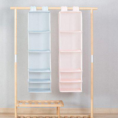 Xiaomi Hanging 5-layer Storage BagStorage Boxes &amp; Bins<br>Xiaomi Hanging 5-layer Storage Bag<br><br>Brand: Xiaomi<br>Functions: Bedroom, Living Room<br>Materials: Oxford cloth, PP<br>Package Contents: 1 x Storage Bag<br>Package Size(L x W x H): 30.00 x 30.00 x 7.00 cm / 11.81 x 11.81 x 2.76 inches<br>Package weight: 0.3000 kg<br>Product weight: 0.2400 kg<br>Types: Storage Bags