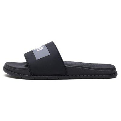 Men Fashion Street Letter Print SlippersMens Slippers<br>Men Fashion Street Letter Print Slippers<br><br>Contents: 1 x Pair of Shoes, 1 x Box<br>Function: Slip Resistant<br>Materials: Rubber<br>Occasion: Beach, Shopping, Holiday, Daily, Casual<br>Outsole Material: Rubber<br>Package Size ( L x W x H ): 28.00 x 14.00 x 10.00 cm / 11.02 x 5.51 x 3.94 inches<br>Package weight: 0.6500 kg<br>Product weight: 0.6000 kg<br>Seasons: Summer<br>Style: Fashion, Comfortable, Casual<br>Type: Slippers