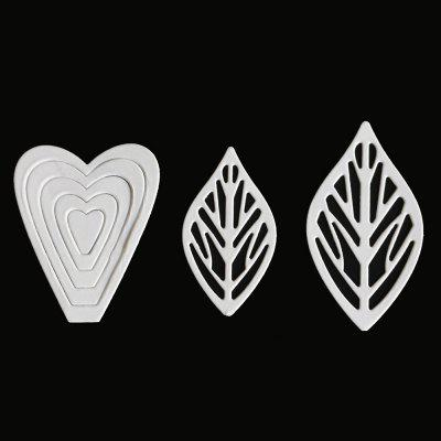 1803430 Flowers Leaves Pattern Embossing Cutting Dies коляска 2 в 1 smile line sandra s