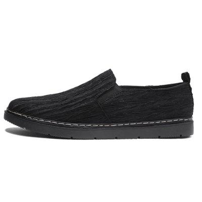Spring Men Sutural Microfiber Leather Casual ShoesFlats &amp; Loafers<br>Spring Men Sutural Microfiber Leather Casual Shoes<br><br>Contents: 1 x Pair of Shoes<br>Materials: Microfiber Leather, Rubber<br>Package Size ( L x W x H ): 31.00 x 21.00 x 12.00 cm / 12.2 x 8.27 x 4.72 inches<br>Package weight: 0.8500 kg<br>Product weight: 0.7500 kg<br>Type: Casual Leather Shoes