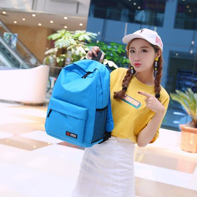Creative Casual Style Women BackpackBackpacks<br>Creative Casual Style Women Backpack<br><br>For: Hiking, Traveling<br>Material: Nylon<br>Package Contents: 1 x Backpack<br>Package size (L x W x H): 31.00 x 5.00 x 44.00 cm / 12.2 x 1.97 x 17.32 inches<br>Package weight: 0.3900 kg<br>Product size (L x W x H): 31.00 x 14.00 x 44.00 cm / 12.2 x 5.51 x 17.32 inches<br>Product weight: 0.3800 kg<br>Strap Length: 55 - 90cm<br>Type: Backpack