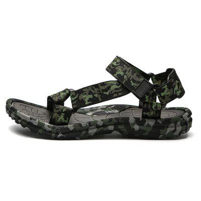 Men Fashion Summer Hollow-out Camouflage SandalsMens Sandals<br>Men Fashion Summer Hollow-out Camouflage Sandals<br><br>Contents: 1 x Pair of Shoes, 1 x Box<br>Function: Slip Resistant<br>Materials: Woven Fabric, Rubber<br>Occasion: Shopping, Holiday, Daily, Casual, Beach<br>Outsole Material: Rubber<br>Package Size ( L x W x H ): 32.00 x 18.00 x 13.00 cm / 12.6 x 7.09 x 5.12 inches<br>Package weight: 0.6000 kg<br>Product weight: 0.4500 kg<br>Seasons: Summer<br>Style: Fashion, Comfortable, Casual<br>Type: Sandals<br>Upper Material: Woven Fabric