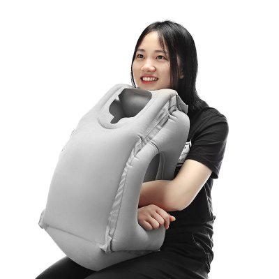 Inflatable Frontal Travel PillowOther Sports Gadgets<br>Inflatable Frontal Travel Pillow<br><br>For: Business Trip, Indoor, Travel, Vocation<br>Material: PVC<br>Package Contents: 1 x Frontal Travel Pillow<br>Package size (L x W x H): 18.00 x 10.00 x 12.00 cm / 7.09 x 3.94 x 4.72 inches<br>Package weight: 0.4000 kg<br>Product size (L x W x H): 55.00 x 30.00 x 35.00 cm / 21.65 x 11.81 x 13.78 inches<br>Product weight: 0.3500 kg<br>Type: Travel Pillows