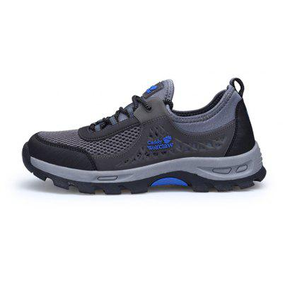 Caddy Wolfclaw Breathable Casual Hiking Athletic ShoesMen's Sneakers<br>Caddy Wolfclaw Breathable Casual Hiking Athletic Shoes<br><br>Brand: Caddy Wolfclaw<br>Closure Type: Lace-Up<br>Contents: 1 x Pair of Shoes, 1 x Box<br>Function: Slip Resistant<br>Materials: Mesh Fabric, Rubber<br>Occasion: Holiday, Casual, Daily, Shopping, Running, Riding, Sports<br>Outsole Material: Rubber<br>Package Size ( L x W x H ): 33.00 x 22.00 x 11.00 cm / 12.99 x 8.66 x 4.33 inches<br>Package weight: 0.8500 kg<br>Product weight: 0.7000 kg<br>Seasons: Autumn,Spring,Summer<br>Style: Leisure, Fashion, Comfortable<br>Toe Shape: Round Toe<br>Type: Hiking Shoes<br>Upper Material: Mesh Fabric