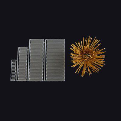 Pistil Pattern Embossing Cutting Dies for DIY Card MakingCrafts<br>Pistil Pattern Embossing Cutting Dies for DIY Card Making<br><br>Package Contents: 1 x Cutting Die<br>Package size (L x W x H): 9.00 x 11.00 x 1.00 cm / 3.54 x 4.33 x 0.39 inches<br>Package weight: 0.0320 kg<br>Product size (L x W x H): 8.20 x 10.30 x 0.08 cm / 3.23 x 4.06 x 0.03 inches<br>Product weight: 0.0120 kg<br>Usage: Party, New Year, Christmas, Birthday, Wedding