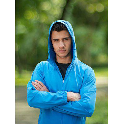 Xiaomi Elastic Breathable Portable Sun Protection Coatweight lifting clothes<br>Xiaomi Elastic Breathable Portable Sun Protection Coat<br><br>Features: High elasticity, Breathable, Quick Dry<br>Gender: Men<br>Material: Polyester, Spandex<br>Package Content: 1 x Coat, 1 x Bag<br>Package size: 22.00 x 18.00 x 1.00 cm / 8.66 x 7.09 x 0.39 inches<br>Package weight: 0.3300 kg<br>Product weight: 0.3000 kg<br>Type: Long Sleeves