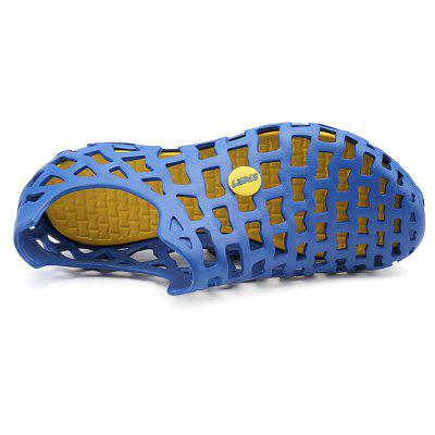 Men Trendy Summer Breathable Hollow SandalsMens Sandals<br>Men Trendy Summer Breathable Hollow Sandals<br><br>Closure Type: Slip-On<br>Contents: 1 x Pair of Shoes, 1 x Box<br>Decoration: Hollow Out<br>Function: Slip Resistant<br>Materials: EVA<br>Occasion: Casual, Daily, Holiday, Shopping, Beach<br>Outsole Material: EVA<br>Package Size ( L x W x H ): 33.00 x 22.00 x 11.00 cm / 12.99 x 8.66 x 4.33 inches<br>Package weight: 0.4500 kg<br>Product weight: 0.3000 kg<br>Seasons: Summer<br>Style: Fashion, Comfortable, Casual<br>Toe Shape: Round Toe<br>Type: Sandals<br>Upper Material: EVA