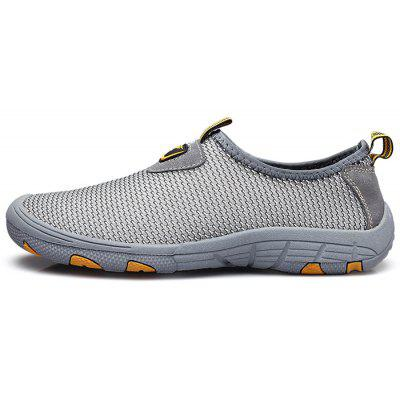 Men Outdoor Breathable Anti-slip Casual Shoes 2017 new spring imported leather men s shoes white eather shoes breathable sneaker fashion men casual shoes