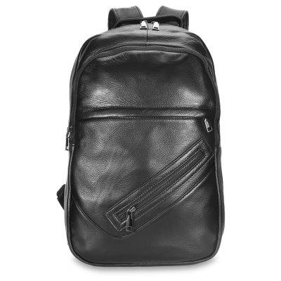 Male Classic Microfiber Leather Backpack male classic microfiber leather backpack