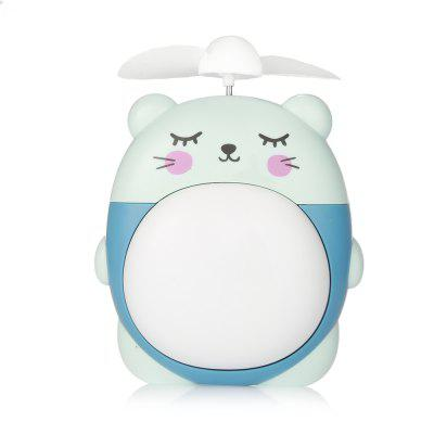 Portable Mini USB Charging Cute FanUSB Accessories<br>Portable Mini USB Charging Cute Fan<br><br>Material: Plastic<br>Package Contents: 1 x Fan, 1 x USB Cable, 1 x Belt<br>Package size (L x W x H): 11.00 x 6.00 x 13.00 cm / 4.33 x 2.36 x 5.12 inches<br>Package weight: 0.2000 kg<br>Product size (L x W x H): 8.30 x 3.50 x 11.00 cm / 3.27 x 1.38 x 4.33 inches<br>Product weight: 0.1800 kg