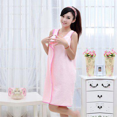 Women Multi-functional Microfiber Bath Towel - LIGHT PINK