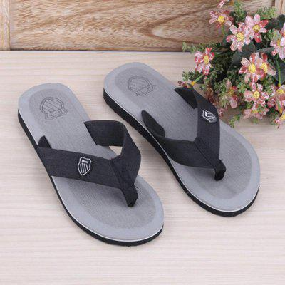 Summer Wear- resistant Men Flip-flopsMens Slippers<br>Summer Wear- resistant Men Flip-flops<br><br>Contents: 1 x Pair of Slippers<br>Lining Material: PVC<br>Materials: PVC, EVA<br>Occasion: Beach, Casual, Daily<br>Outsole Material: EVA<br>Package Size ( L x W x H ): 15.00 x 10.00 x 3.00 cm / 5.91 x 3.94 x 1.18 inches<br>Package weight: 0.2000 kg<br>Product weight: 0.1800 kg<br>Seasons: Spring,Summer<br>Style: Comfortable, Casual<br>Type: Slippers<br>Upper Material: EVA