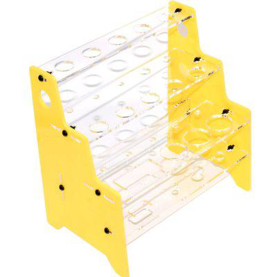 Acrylic Small Hanger RackRacing Frame<br>Acrylic Small Hanger Rack<br><br>Package Contents: 1 x Hanger Rack<br>Package size (L x W x H): 16.00 x 12.00 x 5.00 cm / 6.3 x 4.72 x 1.97 inches<br>Package weight: 0.1600 kg<br>Product size (L x W x H): 15.50 x 10.50 x 3.00 cm / 6.1 x 4.13 x 1.18 inches<br>Product weight: 0.1480 kg<br>Type: Tool Set