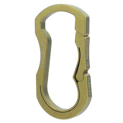 FURA GEAR O Shape Wide Type TC4 Titanium Alloy Key RingEDC Tools<br>FURA GEAR O Shape Wide Type TC4 Titanium Alloy Key Ring<br><br>Brand: FURAGear<br>Package Contents: 1 x Key Ring<br>Package Dimension: 9.00 x 6.00 x 1.00 cm / 3.54 x 2.36 x 0.39 inches<br>Package weight: 0.0340 kg<br>Product Dimension: 6.00 x 3.20 x 0.47 cm / 2.36 x 1.26 x 0.19 inches<br>Product weight: 0.0140 kg