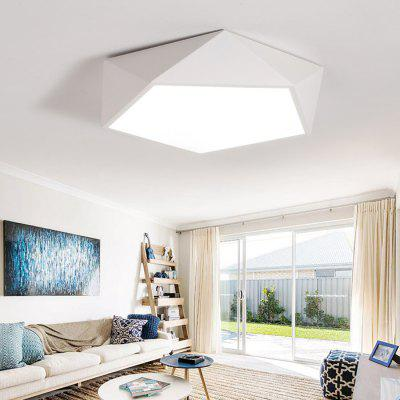 PS6953 Modern Geometry Shape Acrylic LED Ceiling LightFlush Ceiling Lights<br>PS6953 Modern Geometry Shape Acrylic LED Ceiling Light<br><br>Color Temperature or Wavelength: Cool white: 6000 - 6500k, warm white: 3000 - 3500k, natural light: 3500 - 4500k<br>Features: Designers, Eye Protection<br>Package Contents: 1 x Ceiling Light, 1 x Mounting Kit Accessory, 1 x English Manual<br>Package size (L x W x H): 49.00 x 49.00 x 17.00 cm / 19.29 x 19.29 x 6.69 inches<br>Package weight: 3.7000 kg<br>Product size (L x W x H): 42.00 x 42.00 x 11.00 cm / 16.54 x 16.54 x 4.33 inches<br>Product weight: 3.4000 kg<br>Shade Material: Iron, Acrylic<br>Style: Artistic Style, LED<br>Suggested Room Size: 10 - 15?<br>Suggested Space Fit: Bedroom,Cafes,Hallway,Kitchen,Office<br>Type: Ceiling Light