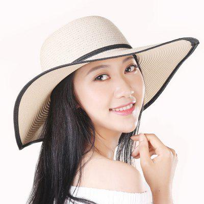 Xiaomi W.W Female Breathable Sunshade Straw HatWomens Hats<br>Xiaomi W.W Female Breathable Sunshade Straw Hat<br><br>Brand: Xiaomi<br>Contents: 1 x Hat<br>Feature: Breathable, Sun Block<br>Gender: Women<br>Material: Papyrus<br>Package size (L x W x H): 23.00 x 20.00 x 6.00 cm / 9.06 x 7.87 x 2.36 inches<br>Package weight: 0.1900 kg<br>Product size (L x W x H): 45.00 x 45.00 x 13.00 cm / 17.72 x 17.72 x 5.12 inches<br>Product weight: 0.1750 kg<br>Style: Fashion, Casual<br>Type: Sun Hat