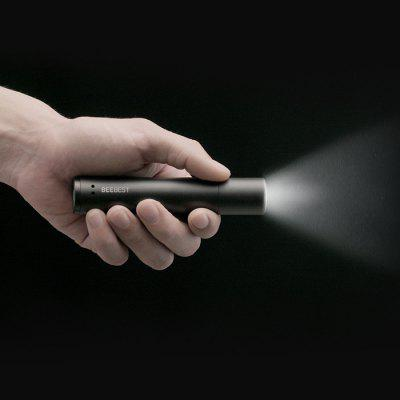 FZ101 Portable Zoom Flashlight from xiaomi youpin - BLACK