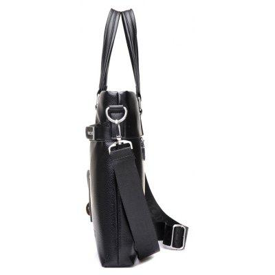 Waterproof Business Men Shoulder BagCrossbody Bags<br>Waterproof Business Men Shoulder Bag<br><br>Features: Wearable<br>For: Daily Use, Shopping, Traveling<br>Gender: Men<br>Material: Polyester, PU<br>Package Size(L x W x H): 39.00 x 4.00 x 29.00 cm / 15.35 x 1.57 x 11.42 inches<br>Package weight: 0.9800 kg<br>Packing List: 1 x Bag<br>Product Size(L x W x H): 39.00 x 5.00 x 29.00 cm / 15.35 x 1.97 x 11.42 inches<br>Product weight: 0.9700 kg<br>Style: Business<br>Type: Shoulder bag