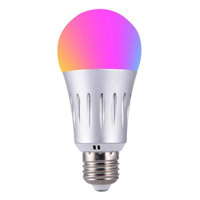 LED RGBW Wireless WiFi Remote Control Smart Bulb magic 7w e27 wifi rgbw led light bulb smart wireless remote control le lamp color change dimmable for home hotel ios android