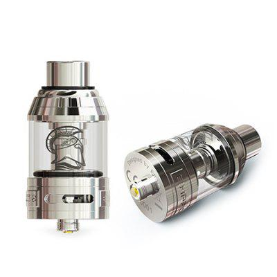 EHPRO Achilles TANK AtomizerRebuildable Atomizers<br>EHPRO Achilles TANK Atomizer<br><br>Brand: EHPro<br>Material: Stainless Steel, Glass<br>Package Contents: 1 x Atomizer, 1 x RBA Coil, 1 x Stainless Steel Tank, 1 x Screwdriver, 1 x O-ring, 1 x Cotton, 1 x Heating Wire, 1 x English User Manual<br>Package size (L x W x H): 6.40 x 9.40 x 3.30 cm / 2.52 x 3.7 x 1.3 inches<br>Package weight: 0.1320 kg<br>Product size (L x W x H): 2.45 x 2.45 x 5.30 cm / 0.96 x 0.96 x 2.09 inches<br>Product weight: 0.0550 kg<br>Rebuildable Atomizer: RBA<br>Type: Rebuildable Atomizer, Clearomizer