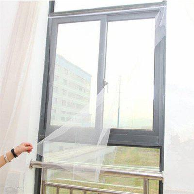 Insect Mosquito Self-adhesive Window Mesh Door Curtain black anti mosquito pest window net mesh screen curtain protector