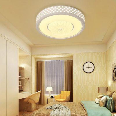 1626 Modern Checkered Pattern Round Acrylic LED Ceiling LightFlush Ceiling Lights<br>1626 Modern Checkered Pattern Round Acrylic LED Ceiling Light<br><br>Color Temperature or Wavelength: Cool white: 6000 - 6500k, warm white: 3000 - 3500k, natural light: 3500 - 4500k<br>Features: Designers, Eye Protection<br>Package Contents: 1 x Ceiling Light, 1 x Mounting Kit Accessory, 1 x English Manual<br>Package size (L x W x H): 59.00 x 59.00 x 18.00 cm / 23.23 x 23.23 x 7.09 inches<br>Package weight: 4.1000 kg<br>Product size (L x W x H): 52.00 x 52.00 x 11.00 cm / 20.47 x 20.47 x 4.33 inches<br>Product weight: 3.7000 kg<br>Shade Material: Iron, Acrylic<br>Style: Artistic Style, LED<br>Suggested Room Size: 15 - 20?<br>Suggested Space Fit: Bedroom,Cafes,Kids Room,Office<br>Type: Ceiling Light