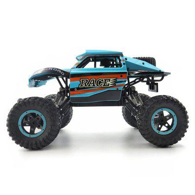Flytec SL - 115A 1/14 2.4GHz 25km/h RC Crawler CarRC Cars<br>Flytec SL - 115A 1/14 2.4GHz 25km/h RC Crawler Car<br><br>Battery Information: 4.8V 600mAh Ni-Cd<br>Brand: Flytec<br>Channel: 4-Channels<br>Charging Time: 180 minutes<br>Detailed Control Distance: 50~60m<br>Drive Type: 4 WD<br>Functions: Forward/backward, Turn left/right<br>Material: ABS<br>Package Contents: 1 x RC Car ( Battery Included ), 1 x Transmitter, 1 x USB Cable<br>Package size (L x W x H): 43.00 x 22.00 x 22.00 cm / 16.93 x 8.66 x 8.66 inches<br>Package weight: 1.2800 kg<br>Product size (L x W x H): 32.00 x 19.00 x 17.00 cm / 12.6 x 7.48 x 6.69 inches<br>Product weight: 0.7240 kg<br>Proportion: 1:14<br>Racing Time: 25 - 30mins<br>Remote Control: 2.4GHz Wireless Remote Control<br>Speed: 25km/h<br>Transmitter Power: 3 x 1.5V AA battery (not included)<br>Type: Crawler Car