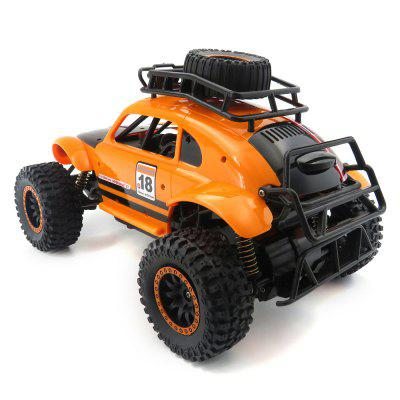 Flytec SL - 145A 1/14 2.4GHz 25km/h RC Crawler CarRC Cars<br>Flytec SL - 145A 1/14 2.4GHz 25km/h RC Crawler Car<br><br>Battery Information: 6V 600mAh Ni-Cd<br>Brand: Flytec<br>Car Power: Built-in rechargeable battery<br>Channel: 4-Channels<br>Charging Time: 180 minutes<br>Detailed Control Distance: 50~60m<br>Drive Type: 4 WD<br>Functions: Forward/backward, Turn left/right<br>Material: ABS<br>Package Contents: 1 x RC Car ( Battery Included ), 1 x Transmitter, 1 x USB Cable<br>Package size (L x W x H): 43.00 x 22.00 x 22.00 cm / 16.93 x 8.66 x 8.66 inches<br>Package weight: 1.2910 kg<br>Product size (L x W x H): 30.00 x 18.50 x 17.00 cm / 11.81 x 7.28 x 6.69 inches<br>Product weight: 0.7260 kg<br>Proportion: 1:14<br>Racing Time: 20~30mins<br>Remote Control: 2.4GHz Wireless Remote Control<br>Speed: 25km/h<br>Transmitter Power: 3 x 1.5V AA battery (not included)<br>Type: Crawler Car