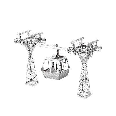 3D Metal Puzzle Tourist Cable CarModel &amp; Building Toys<br>3D Metal Puzzle Tourist Cable Car<br><br>Gender: Unisex<br>Materials: Metal<br>Package Contents: 2 x Stainless Sheet, 1 x Graphic Manual<br>Package size: 17.00 x 12.00 x 1.00 cm / 6.69 x 4.72 x 0.39 inches<br>Package weight: 0.0500 kg<br>Product size: 13.80 x 3.80 x 8.70 cm / 5.43 x 1.5 x 3.43 inches<br>Product weight: 0.0300 kg<br>Stem From: Europe and America<br>Theme: Vehicle