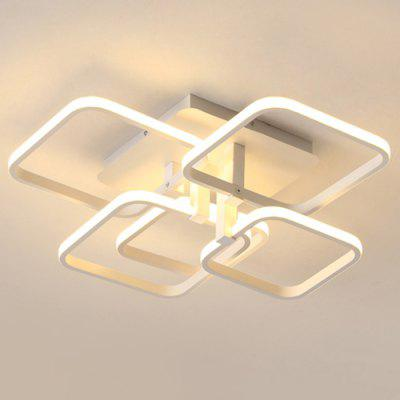 7065 Overlapping Squares Design Acrylic LED Ceiling LightFlush Ceiling Lights<br>7065 Overlapping Squares Design Acrylic LED Ceiling Light<br><br>Color Temperature or Wavelength: Cool white: 6000 - 6500k, warm white: 3000 - 3500k, natural light: 3500 - 4500k<br>Features: Eye Protection<br>Package Contents: 1 x Ceiling Light, 1 x Mounting Kit Accessory, 1 x English Manual<br>Package size (L x W x H): 68.00 x 61.00 x 25.00 cm / 26.77 x 24.02 x 9.84 inches<br>Package weight: 4.1000 kg<br>Product size (L x W x H): 58.00 x 51.00 x 20.00 cm / 22.83 x 20.08 x 7.87 inches<br>Product weight: 3.5000 kg<br>Shade Material: Acrylic, Silica Gel, Iron<br>Style: Modern/Contemporary, LED, Artistic Style<br>Suggested Room Size: 10 - 15?<br>Suggested Space Fit: Bedroom,Cafes,Dining Room,Kids Room,Living Room,Office<br>Type: Ceiling Light