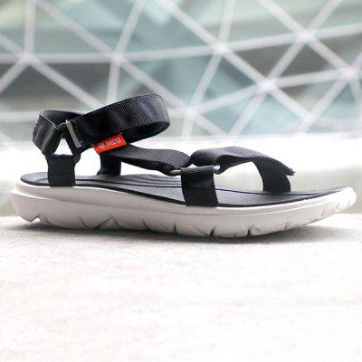 Men Trendy Reflective Anti-slip Adjustable SandalsMens Sandals<br>Men Trendy Reflective Anti-slip Adjustable Sandals<br><br>Closure Type: Hook / Loop<br>Contents: 1 x Pair of Shoes<br>Function: Slip Resistant<br>Materials: EVA, Woven Fabric<br>Occasion: Beach, Shopping, Holiday, Daily, Casual<br>Outsole Material: EVA<br>Package Size ( L x W x H ): 28.00 x 8.00 x 5.00 cm / 11.02 x 3.15 x 1.97 inches<br>Package weight: 0.6600 kg<br>Product weight: 0.5600 kg<br>Seasons: Summer<br>Style: Leisure, Fashion, Comfortable<br>Type: Sandals<br>Upper Material: Woven Fabric