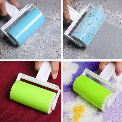 Washable Sticky Picker Pet Fluff Remover Reusable Lint RollerHousehold Cleaning Tools<br>Washable Sticky Picker Pet Fluff Remover Reusable Lint Roller<br><br>Available Color: Blue,Green,Pink,Yellow<br>Materials: ABS, TPR<br>Package Contents: 1 x Lint Roller<br>Package size (L x W x H): 7.20 x 10.20 x 10.20 cm / 2.83 x 4.02 x 4.02 inches<br>Package weight: 0.0500 kg<br>Product size (L x W x H): 7.00 x 10.00 x 10.00 cm / 2.76 x 3.94 x 3.94 inches<br>Product weight: 0.0400 kg<br>Types: Cleaning Tools
