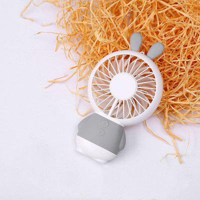Mini Rabbit USB Portable LED Light Carton Noiseless Fan with Neck RopeDecorative Lights<br>Mini Rabbit USB Portable LED Light Carton Noiseless Fan with Neck Rope<br><br>Features: USB charging<br>For: Home, Office, Restaurant<br>Material: ABS<br>Package Contents: 1 x Fan, 1 x USB Cable<br>Package size (L x W x H): 16.00 x 10.00 x 5.00 cm / 6.3 x 3.94 x 1.97 inches<br>Package weight: 0.8600 kg<br>Power Supply: Battery<br>Product size (L x W x H): 15.00 x 8.60 x 2.60 cm / 5.91 x 3.39 x 1.02 inches<br>Product weight: 0.8500 kg<br>Type: Animal