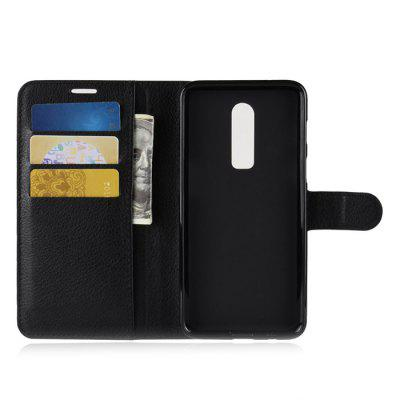 Lichee Pattern Flip Wallet Phone Case for OnePlus 6Cases &amp; Leather<br>Lichee Pattern Flip Wallet Phone Case for OnePlus 6<br><br>Features: Anti-knock, Cases with Stand, Full Body Cases, With Credit Card Holder<br>Material: TPU, PU Leather<br>Package Contents: 1 x Phone Case<br>Package size (L x W x H): 16.50 x 9.10 x 3.00 cm / 6.5 x 3.58 x 1.18 inches<br>Package weight: 0.0780 kg<br>Product Size(L x W x H): 15.10 x 8.10 x 1.80 cm / 5.94 x 3.19 x 0.71 inches<br>Product weight: 0.0630 kg