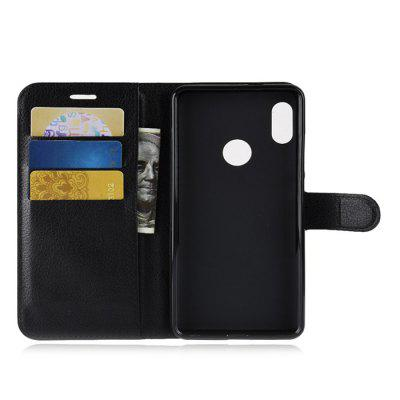 Lichee Pattern Wallet Phone Case for Xiaomi Redmi Note 5Cases &amp; Leather<br>Lichee Pattern Wallet Phone Case for Xiaomi Redmi Note 5<br><br>Features: Anti-knock, Cases with Stand, Full Body Cases, With Credit Card Holder<br>Mainly Compatible with: Xiaomi<br>Material: TPU, PU Leather<br>Package Contents: 1 x Phone Case<br>Package size (L x W x H): 17.30 x 9.00 x 3.00 cm / 6.81 x 3.54 x 1.18 inches<br>Package weight: 0.0800 kg<br>Product Size(L x W x H): 16.30 x 8.00 x 1.80 cm / 6.42 x 3.15 x 0.71 inches<br>Product weight: 0.0670 kg